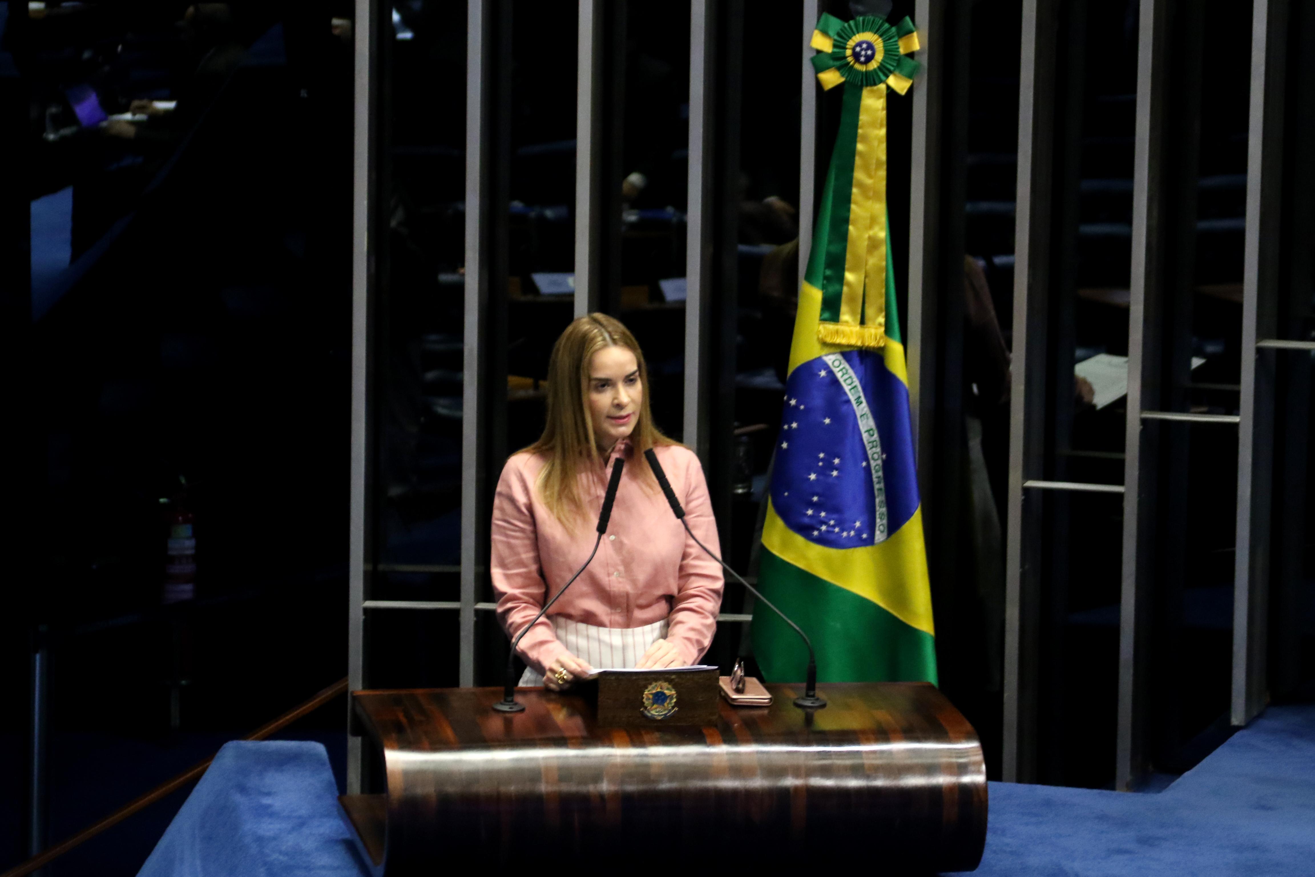 Daniella Ribeiro declara apoio à reeleição de Davi Alcolumbre como presidente do Senado