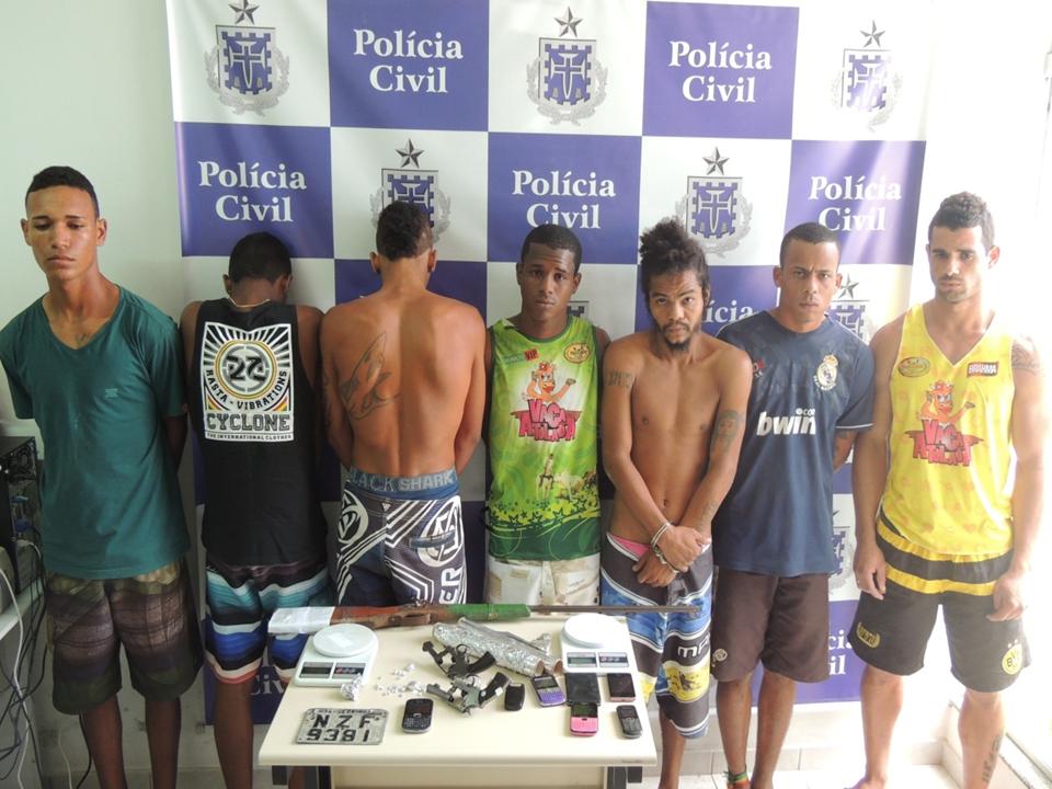Oito suspeitos já foram presos em Mandacaru por envolvimento em crimes e operações continuarão