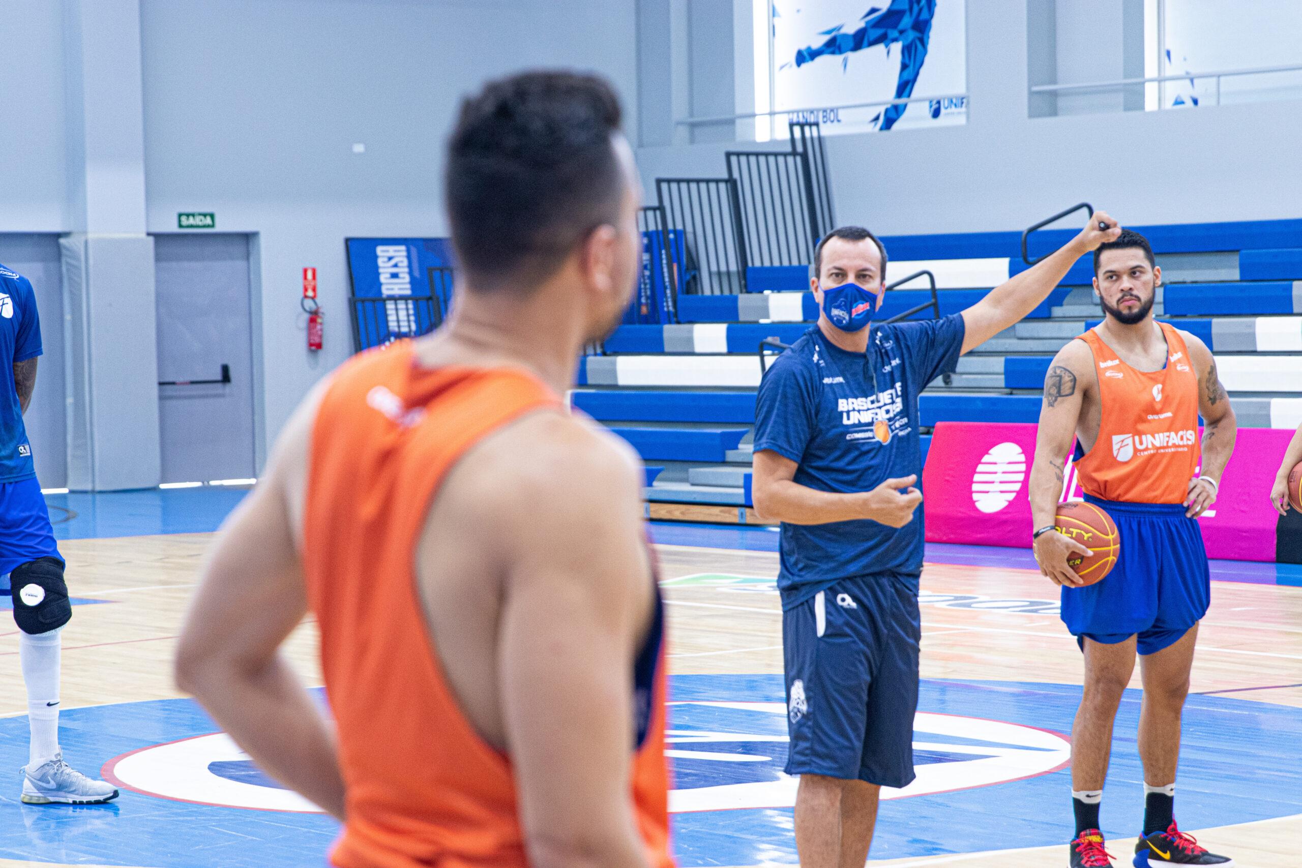 Unifacisa retoma treinos em preparação para o 2º turno do NBB