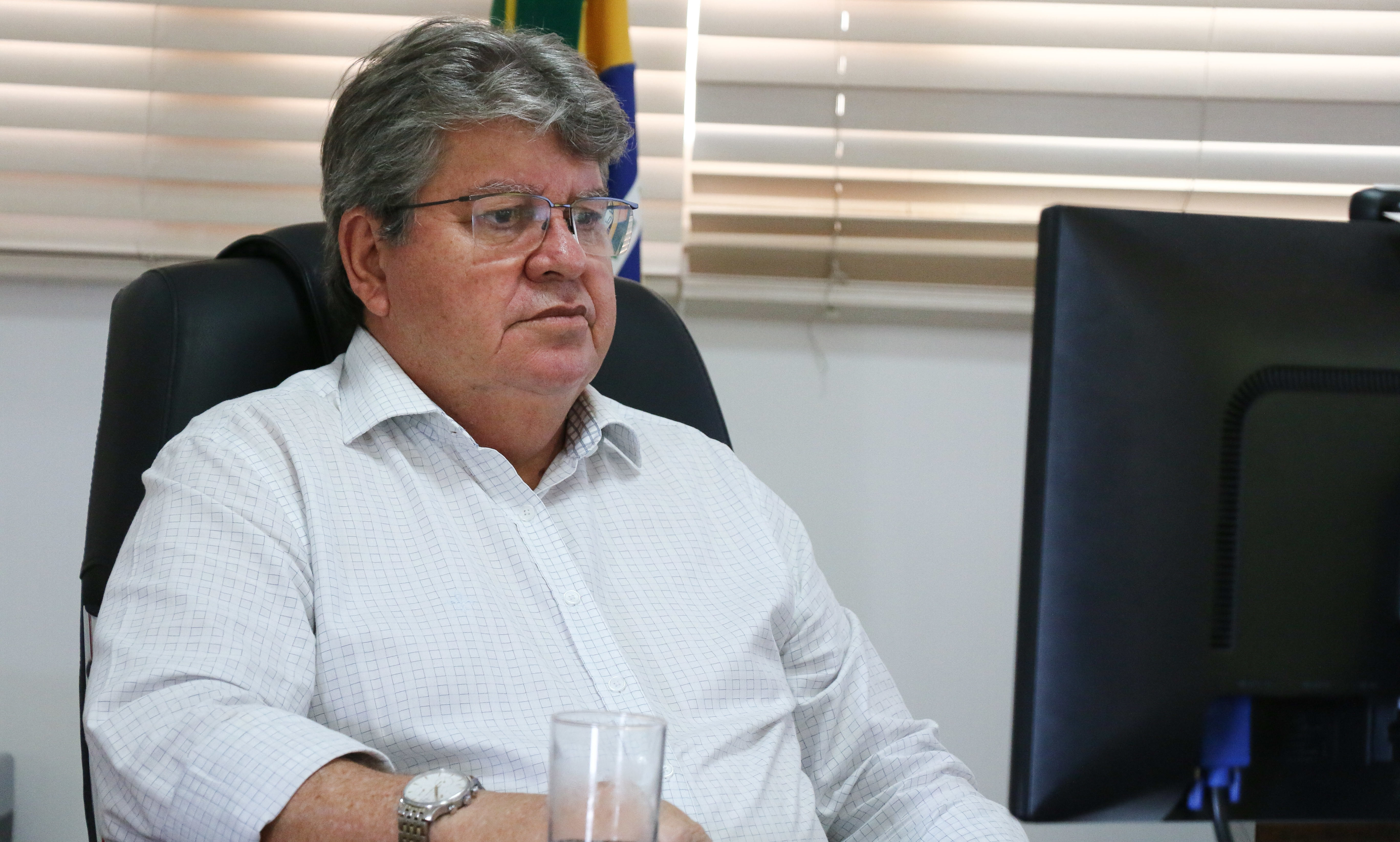 Governador João Azevêdo participará da sessão de retorno aos trabalhos dos deputados na ALPB