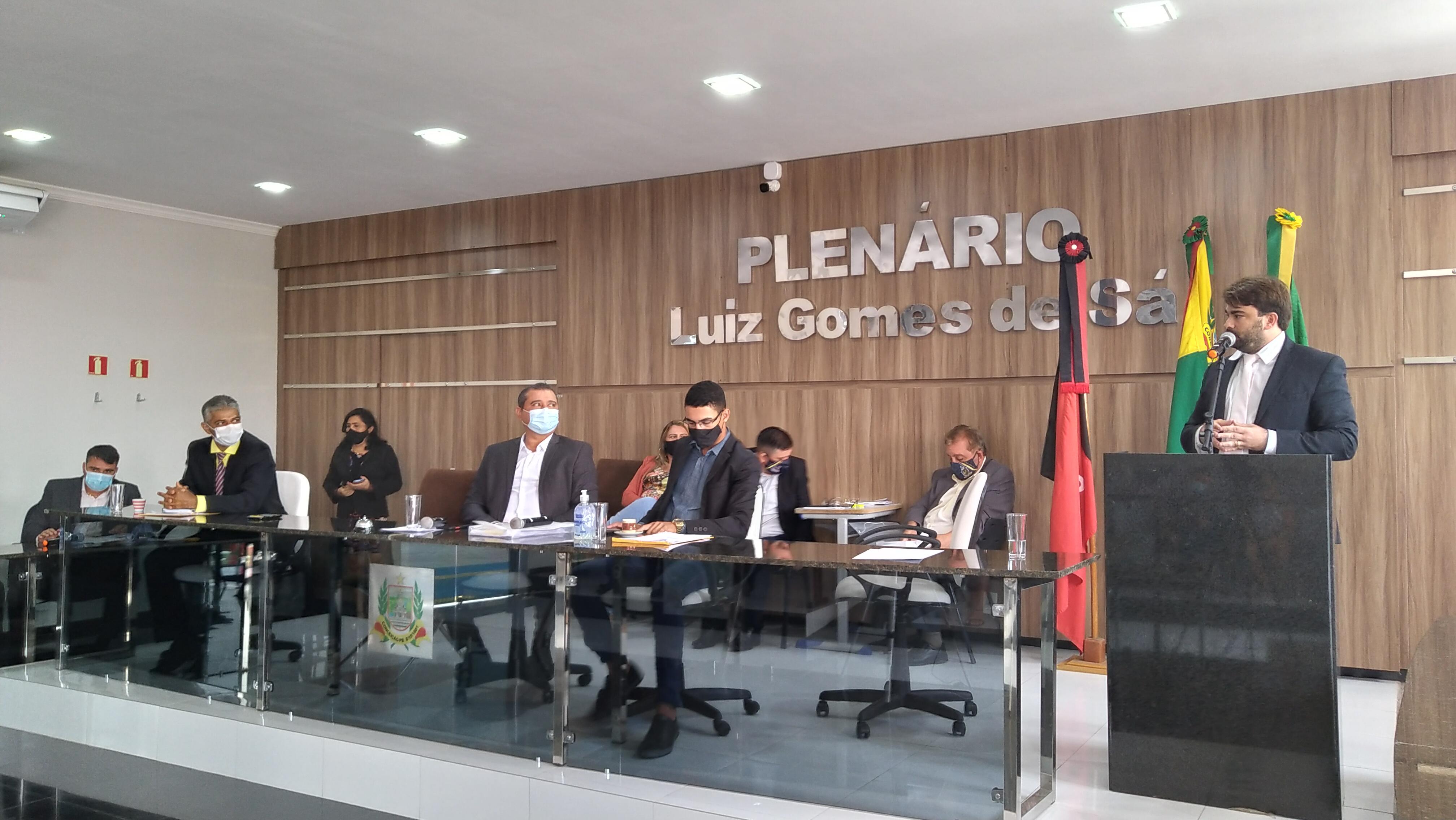 Câmara de Conceição realiza a primeira sessão ordinária de 2021
