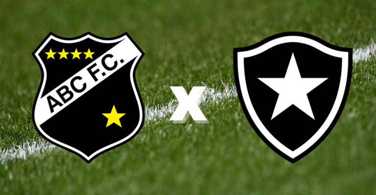 Botafogo e ABC se enfrentam nesta quarta na Copa do Brasil
